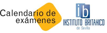 Botón Calendario exámenes del Instituto Británico de Sevilla
